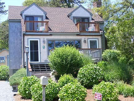Chatham Cape Cod vacation rental - Front of Home, overlooking saltmarsh & Forest Beach