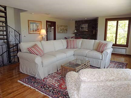 Chatham Cape Cod vacation rental - Living room with wonderful views Nantucket Sound and saltmarsh