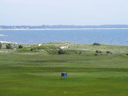 Chatham Cape Cod vacation rental - View of saltmarsh and Forest Beach from the deck