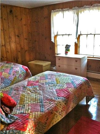 West Harwich Cape Cod vacation rental - Rear bedroom with twin beds, A/C, huge closet