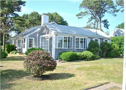 West Harwich Cape Cod vacation rental - Large side yard, perfect for games like badminton and croquet!