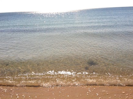 West Harwich Cape Cod vacation rental - Wonderful swimming at your own private beach!