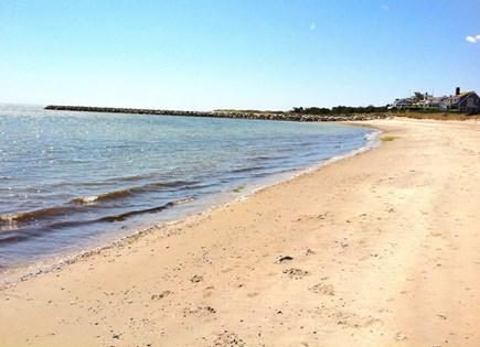 West Harwich Cape Cod vacation rental - View of private beach 3 houses away!