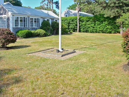 West Harwich Cape Cod vacation rental - Large side yard great for lawn games!