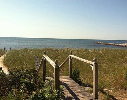 West Harwich Cape Cod vacation rental - Steps away from your own private beach