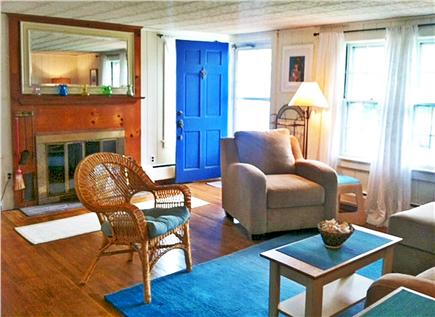 West Harwich Cape Cod vacation rental - Enter the front door into the comfortable living room