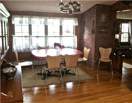 West Harwich Cape Cod vacation rental - Roomy kitchen with den to left and LR to right