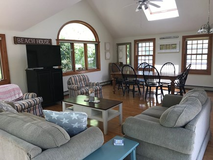 Harwichport Cape Cod vacation rental - Spacious Great Room for hanging out with Family and Friends