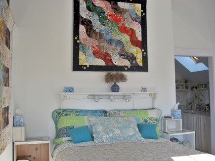 Barnstable Cape Cod vacation rental - Master suite w/queen, office w/ Wifi, W/D, full bath+ vanity sink