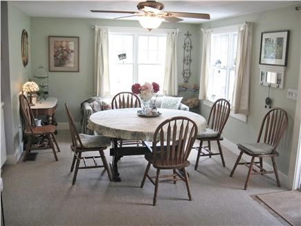 Barnstable Cape Cod vacation rental - Dining room seats 7-10