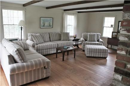 Orleans Cape Cod vacation rental - New oversized couches in living room
