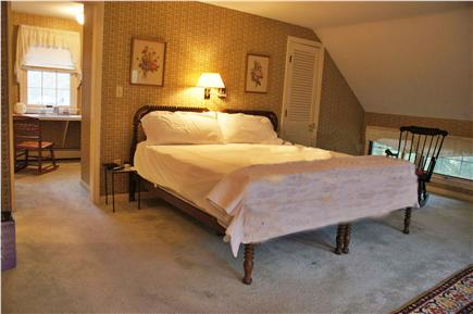 Orleans Cape Cod vacation rental - Master bedroom with king size bed, dressing room and bathroom