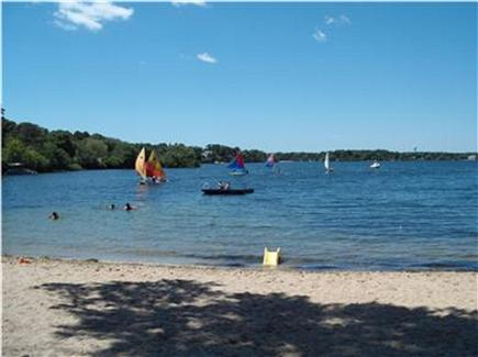 Hyannis/Centerville Cape Cod vacation rental - Relaxing Wequaquet Lake