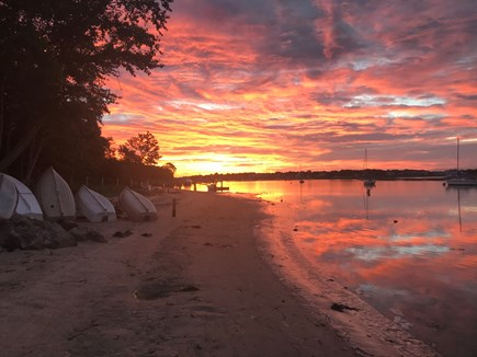 Yarmouth, Bass River Cape Cod vacation rental - Sunrise at Windmill Beach