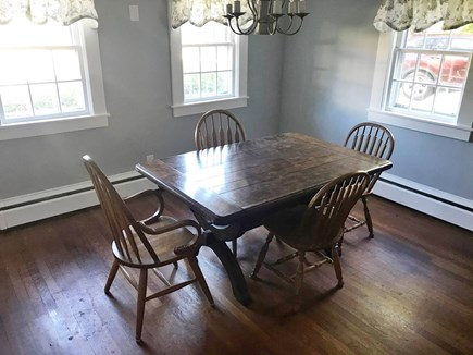 Yarmouth, Bass River Cape Cod vacation rental - Dining Room-Table expands to seat 8