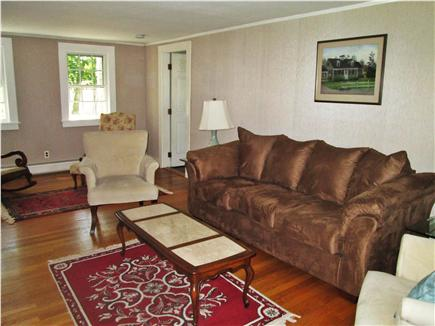 Yarmouth, Bass River Cape Cod vacation rental - Living room with flat panel TV