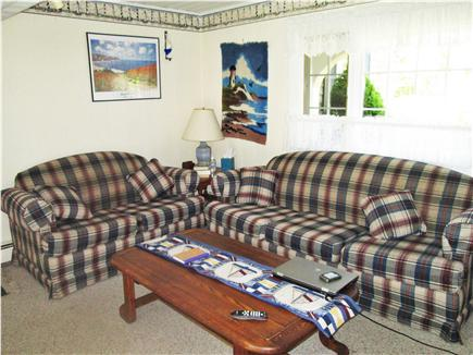 Yarmouth, Bass River Cape Cod vacation rental - Family room with second TV