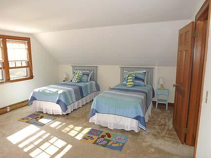 South Chatham Cape Cod vacation rental - Second floor twin bedroom