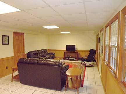South Chatham Cape Cod vacation rental - Finished basement family room