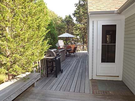 South Chatham Cape Cod vacation rental - Wraparound deck from the back of the house