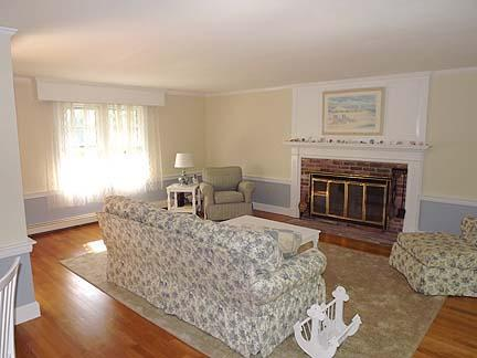 South Chatham Cape Cod vacation rental - Large spacious living room