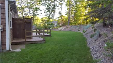 West Falmouth Cape Cod vacation rental - Outside Shower/ Deck