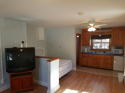West Falmouth Cape Cod vacation rental - Studio includes kitchenette, full bedroom, bath, living room