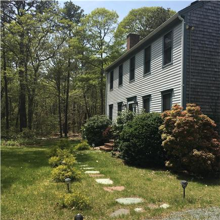 Eastham Cape Cod vacation rental - House and front yard