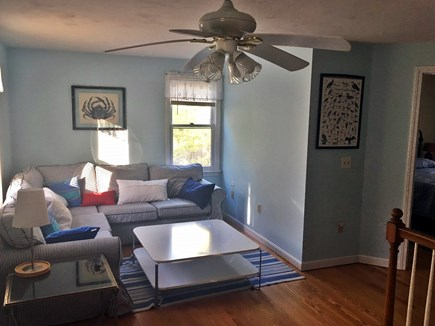 Eastham Cape Cod vacation rental - Upstairs Den w/tv, Wii, DVD player, games, etc.