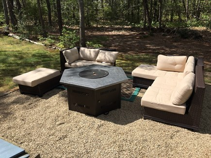 Eastham Cape Cod vacation rental - Firepit area