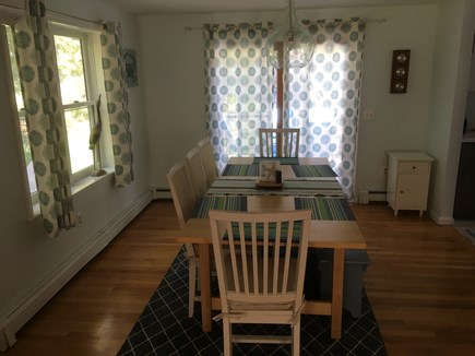 Eastham Cape Cod vacation rental - Dining room for 8