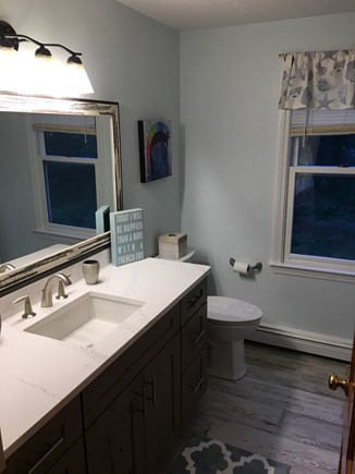 Eastham Cape Cod vacation rental - Upstairs full bathrooom post remodel