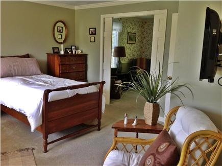Dennis Village Cape Cod vacation rental - Master can be connected to twin bedroom through pocket doors