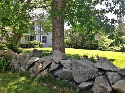 Dennis Village Cape Cod vacation rental - Big side yard for kids to play