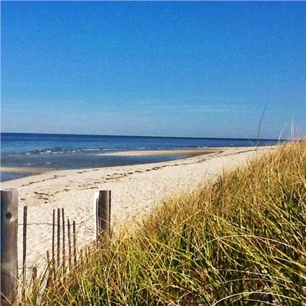 Dennis Village Cape Cod vacation rental - Beautiful Mayflower Beach at the end of the street, < 1 mile