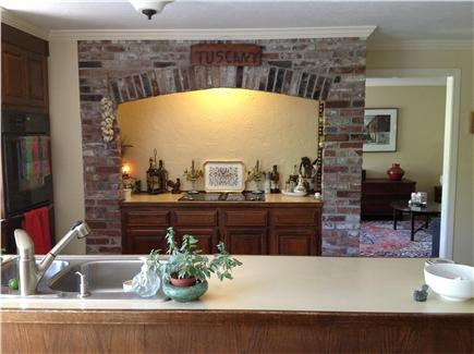 Dennis Village Cape Cod vacation rental - Italian style Kitchen. Italy to Cape Cod in one day!
