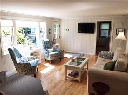 Mashpee Cape Cod vacation rental - Family room with 48 inch Wall Mt Smart TV