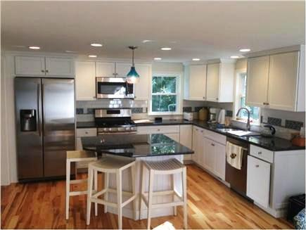 Mashpee Cape Cod vacation rental - Main Kitchen features stainless steel appliances