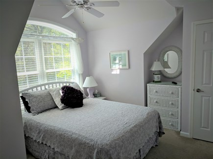 South Dennis Cape Cod vacation rental - Second Floor Queen Bedroom with flatscreen TV