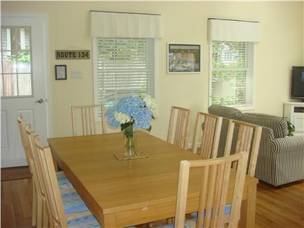 South Dennis Cape Cod vacation rental - Open Dining Area