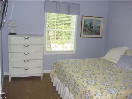 South Dennis Cape Cod vacation rental - First Floor Bedroom with Queen Bed & flatscreen TV