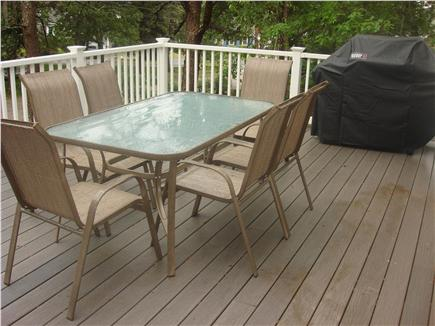 South Dennis Cape Cod vacation rental - Deck with Gas Grill