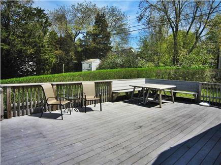 East Orleans Cape Cod vacation rental - Spacious deck