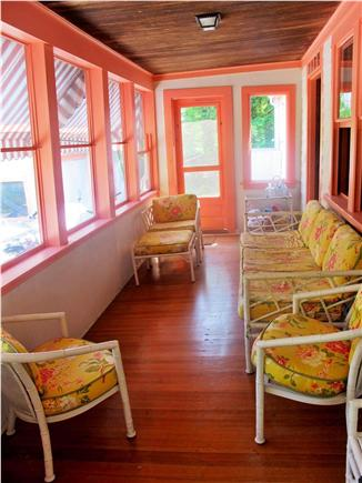 West Falmouth Cape Cod vacation rental - Porch