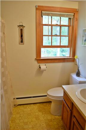 Brewster Cape Cod vacation rental - 2nd floor bath with shower/tub