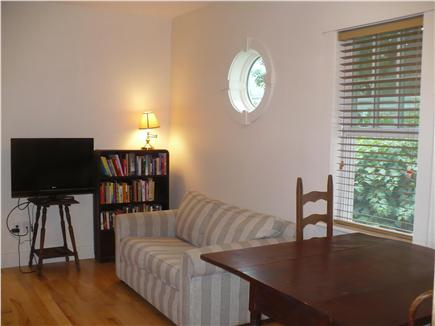 Provincetown Cape Cod vacation rental - Note the detail porthole-window and stunning wood floors!