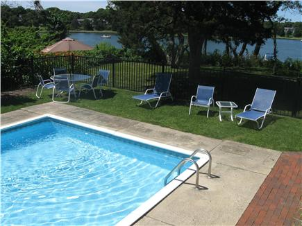 East Orleans Cape Cod vacation rental - Outdoor Pool with water views of Pleasant Bay
