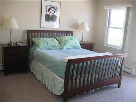 East Orleans Cape Cod vacation rental - Queen Bedroom # 2 with water views and shared deck