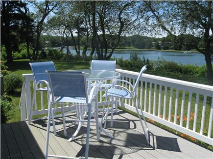 East Orleans Cape Cod vacation rental - Queen Bedroom # 2 and # 3's Shared Deck