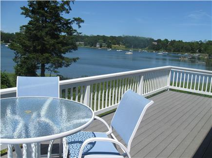 East Orleans Cape Cod vacation rental - Water views from the Deck